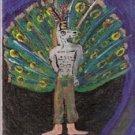 Adramelech (Original Painting) Demonology by Melissa E Anderson