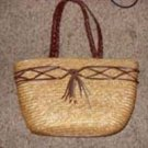 Wheat Straw Purse from white Stag