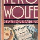 Death on Deadline (Nero Wolfe)  by Robert Goldsbough
