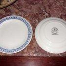 Adams English Ironstone China Saucers, Brentwood Pattern