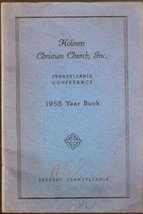 Holiness Christian Church, Inc. 1955 Yearbook, Pennsylvania Confernce