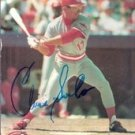 Chris Sabo Cincinnati Reds 8x 10 Autographed Picture