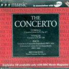 The Concerto, BBC Music (Corelli, Vivaldi, Bach, Beethoven) MUSIC CD
