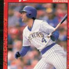 1990 Donruss Card 103  Paul Moliton, Brewers
