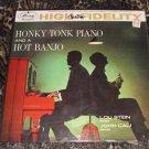 Honky Tonk Piano and a Hot Banjo (Vinyl Record 33 rpm)
