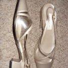 Gold Amerita Fashion Ladies Sandal, size 11M