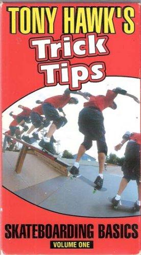 Tony Hawk's Trick Tips, Skateboard Basics, Vol One (VHS Movie)