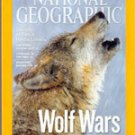 National Geographic, March 2010 (Wolf Wars; Once protected Now Hunted)