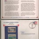 St. Lawrence Seaway Opened Stamp Set (1959 4-cent Stamp,  1984 20-cent stamp)