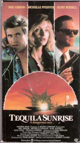 Tequila Sunrise (VHS Movie) Mel Gibson, Michelle Pfeiffer, Kurt Russell