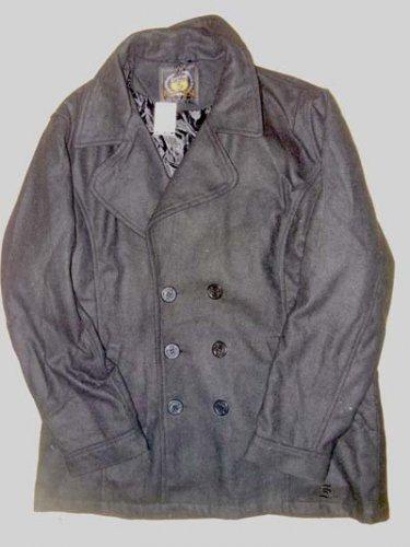 Sportier Mens Wool Blend Pea coat (NWT) size 2xl