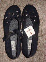 Black Girls Flat Shoe by Jenny's Closet, Size 3
