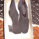 Ladies Brown Cloth Uppers by Bandolino, size 5 1/2M