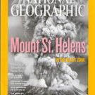 National Geographic, May 2010 (Mount St. Helens)