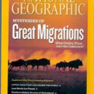 National Geographic, November  2010 (Great Migrations)