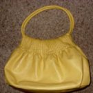 Large Canary Yellow Purse
