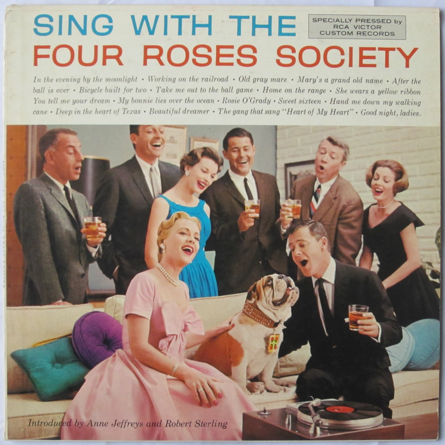 Sing With the Four Roses Society (Vinyl record 1958)