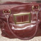 NY&C Brown Large Vintage Leather Purse