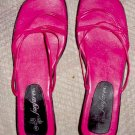 Ladies Real red Sandals by fanfare, Size 9 M