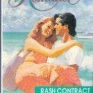 Rush Contract by Angela Wells (Harlequin Romance)
