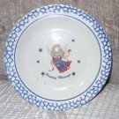 Country Blessings Angel Motif Saucer - dessert plate