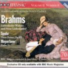 BBC Music Vol. II, No. 8 (Brahms, Spohr, Meterbeer) MUSIC CD