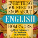 Everything you need To Know About English Homework (4th-6th Grades)