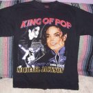 Michael Jackson Black Tribute Tee Shirt, Size M