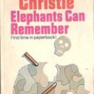 Elephants can Remember by Agatha Christie, 1973