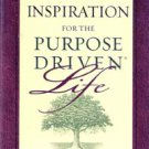 Daily Inspiration for The Purpose Driven Life by Rick Warren
