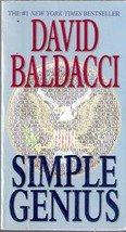 Simple Genius By David Baldacci (Paperback)