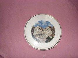 Mt Rushmore souvenir Miniature Plate, USA circa 1960