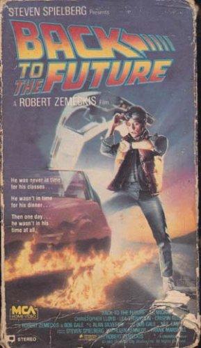 Back to the Future (VHS Movie) Michael J Fox, Christopher lloyd