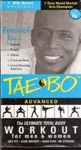 Taebo Advanced: The Ultimate Total Body Workout (VHS Movie)