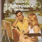 Bitter Inheritance by Kate Kingston (Harlequin Romance)