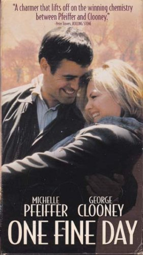 One Fine Day (VHS Movie) George Clooney, Michelle Pfeiffer