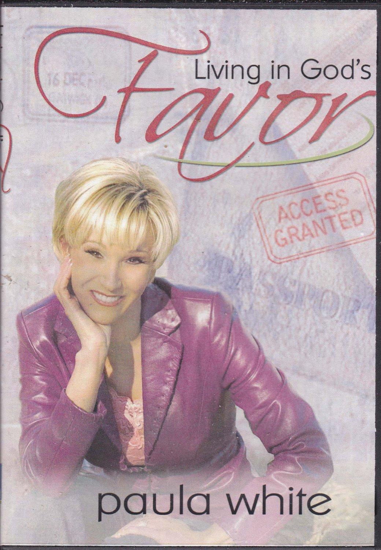 Living In Gods Favor by Paula White (2 DVD Set) 2006