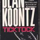 Tick Tock by Dean Koontz (Paperback) 1997
