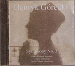 Henryk Gorecki, Symphony No. 3 (Music CD)