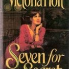 Seven for A Secret by Victoria Holt (HB/DJ) 1992