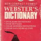 Webster's Dictionary (New Compact Size) 1988 by Book Essentials