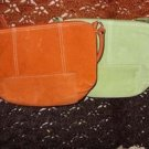 Suede Leather Clutch Purses ( Set of 2)