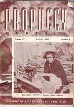 Prophecy Monthly, August 1955 (American Prophetic League)