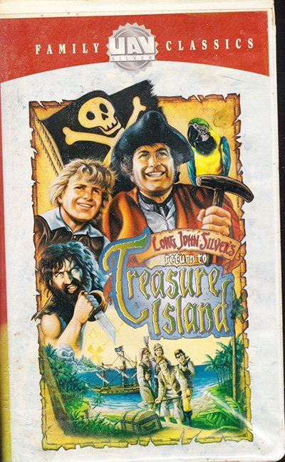 Long John Silver's Returns to Treasure Island (VHS Movie)