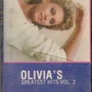 Olivia's Greatest Hits, Vol. 2 (cassette tape) MCA 1982
