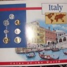Coins of Italy Set ( 7 Coins) Mint Condition