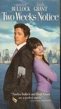 Two Weeks Notice (Sandra Bullock, Hugh Grant) VHS Comedy