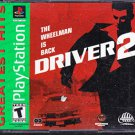 Driver 2 (PlayStation) Greatest Hits 2 disc