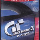 Gran Turismo 3 Greatest Hits A- Spec (Playstation 2)