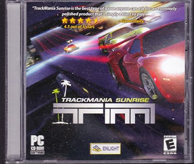 Trackmania Sunrise (Pc cd rom Games) 2006 PC Game